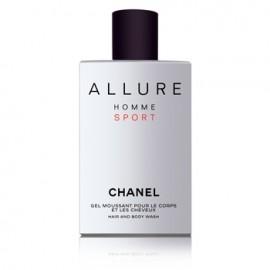 Chanel Allure Homme Sport, dušo želė vyrams, 200ml