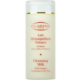 Clarins Cleansing Milk With Gentian, prausiamasis pienelis moterims, 200ml
