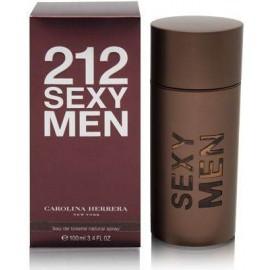 Carolina Herrera 212 Sexy Men, tualetinis vanduo vyrams, 100ml