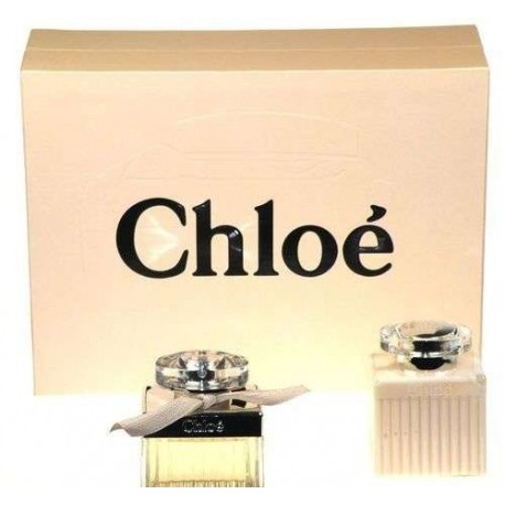 Chloe Chloe, rinkinys kvapusis vanduo moterims, (EDP 50ml + 100ml kūno losjonas)