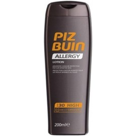 PIZ BUIN Allergy, Sun Sensitive Skin Lotion, Sun kūno losjonas moterims, 200ml