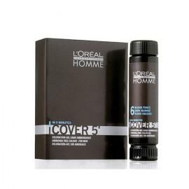 L´Oréal Professionnel Homme, Cover 5´, plaukų dažai vyrams, 3x50ml, (7 Medium Blond)