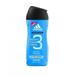 Adidas After Sport, 3in1, dušo želė vyrams, 250ml