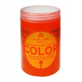 Kallos Cosmetics Color, plaukų kaukė moterims, 1000ml