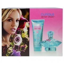Britney Spears Curious, rinkinys kvapusis vanduo moterims, (EDP 100ml + 100ml kūno kremas)