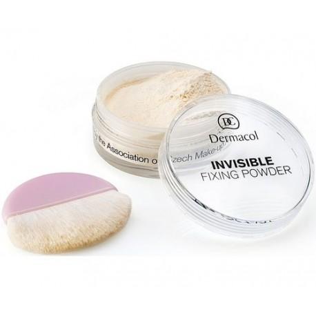 Dermacol Invisible, Fixing Powder, kompaktinė pudra moterims, 13g, (Natural)