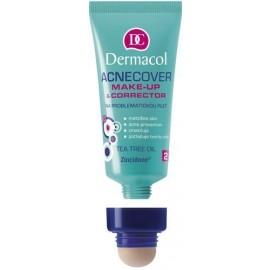 Dermacol Acnecover, Make-Up & Corrector, makiažo pagrindas moterims, 30ml, (2)