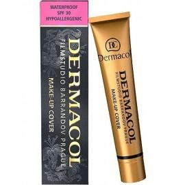 Dermacol Make-Up Cover, SPF30, makiažo pagrindas moterims, 30g, (207)