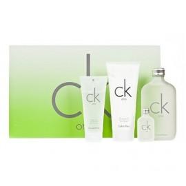Calvin Klein CK One, rinkinys tualetinis vanduo moterims ir vyrams, (EDT 200ml + 100ml kūno