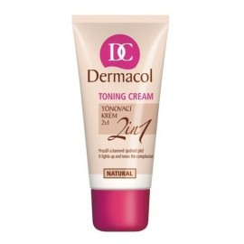 Dermacol Toning Cream, 2in1, BB kremas moterims, 30ml, (Natural)