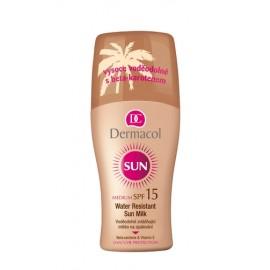 Dermacol Sun, Milk Spray SPF15, Sun kūno losjonas moterims, 200ml
