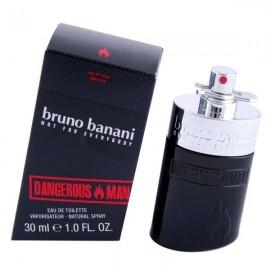 Bruno Banani Dangerous Man, tualetinis vanduo vyrams, 30ml