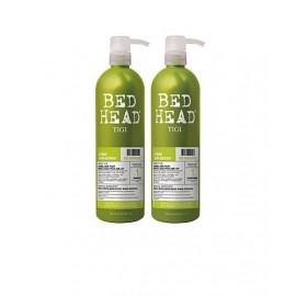 Tigi Bed Head Re-Energize, rinkinys šampūnas moterims, (750ml Bed Head Re-Energize šampūnas +