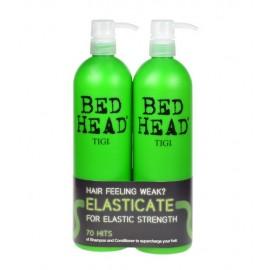 Tigi Bed Head Elasticate, rinkinys šampūnas moterims, (750m Bed Head Elasticate Strengthening