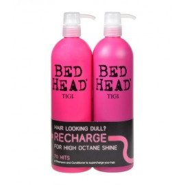 Tigi High Octane, Bed Head Recharge, rinkinys šampūnas moterims, (750ml Bed Head Recharge High