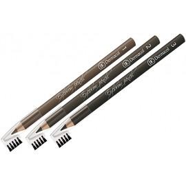 Dermacol Eyebrow, antakių kontūrų pieštukas moterims, 1,6g, (3)