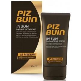 PIZ BUIN In Sun, SPF15, veido apsauga nuo saulės moterims ir vyrams, 40ml