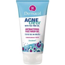 Dermacol AcneClear, Antibacterial, prausiamoji želė moterims, 150ml