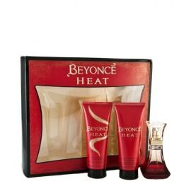 Beyonce Heat, rinkinys kvapusis vanduo moterims, (EDP 30ml + 75ml dušo želė + 75ml kūno
