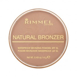 Rimmel London Natural Bronzer, bronzantas moterims, 14g, (026 Sun Kissed)