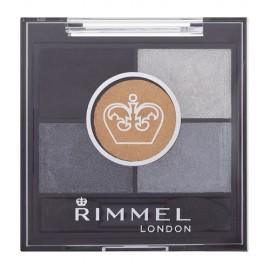 Rimmel London Glam Eyes HD, akių šešėliai moterims, 3,8g, (021 Golden Eye)