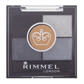 Rimmel London Glam Eyes HD, akių šešėliai moterims, 3,8g, (023 Foggy Grey)