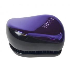 Tangle Teezer Compact Styler, plaukų šepetys moterims, 1pc, (Purple Dazzle)