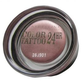 Maybelline Color Tattoo, 24H, akių šešėliai moterims, 4g, (50 Eternal Silver)