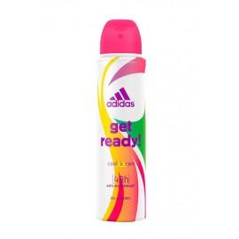Adidas Get Ready! For Her, 48H, antiperspirantas moterims, 150ml