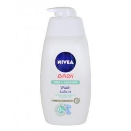 Nivea Baby, Pure & Sensitive Wash Lotion, prausiamoji želė vaikams, 500ml