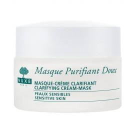 NUXE Rose Petals Cleanser, Clarifying Cream-Mask, veido kaukė moterims, 50ml