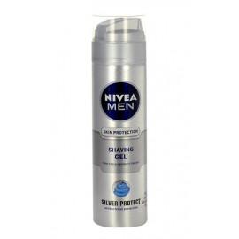 Nivea Men Silver Protect, skutimosi želė vyrams, 200ml