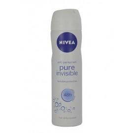 Nivea Pure Invisible, 48H, antiperspirantas moterims, 150ml