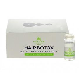Kallos Cosmetics Hair Pro-Tox, Ampoule, nuo pleiskanų moterims, 60ml