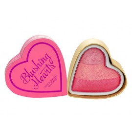 Makeup Revolution London I Heart Makeup, Blushing Hearts, skaistalai moterims, 10g, (Peachy Pink