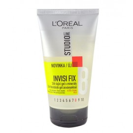 L´Oréal Paris Studio Line, Invisi Fix 24H Gel, plaukų želė moterims, 150ml