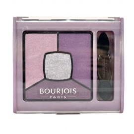 BOURJOIS Paris Smoky Stories, Quad Eyeshadow Palette, akių šešėliai moterims, 3,2g, (04 Rock