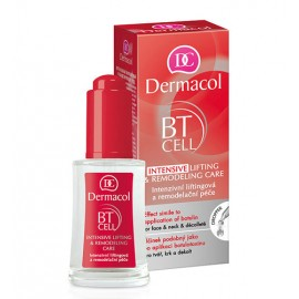 Dermacol BT Cell, Intensive Lifting & Remodeling Care, veido serumas moterims, 30ml