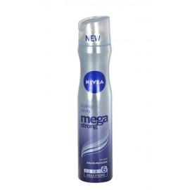 Nivea Mega Strong, plaukų purškiklis moterims, 250ml