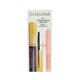 Collistar Eyebrow Gel 3in1, rinkinys antakių tušas moterims, (3ml Eyebrow želė 3in1 + 1,2g