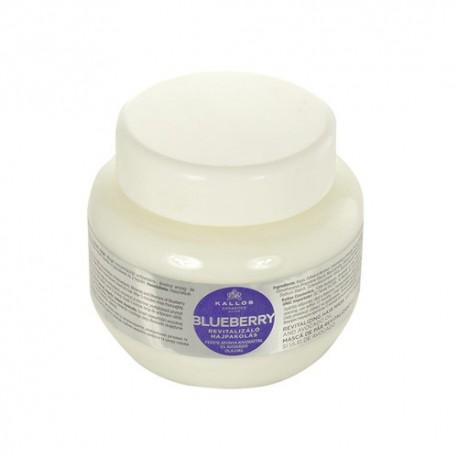 Kallos Cosmetics Blueberry, plaukų kaukė moterims, 275ml