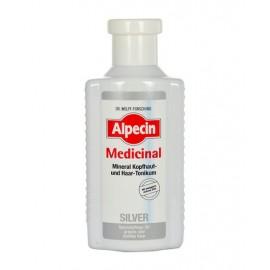 Alpecin Medicinal Silver, Mineral Scalp & Hair Tonic, plaukų serumas moterims ir vyrams, 200ml
