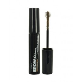 Maybelline Brow Drama, Sculpting Brow, antakių tušas moterims, 7,6ml, (Dark Brown)