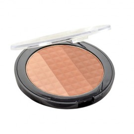 Makeup Revolution London Ultra Bronze, Shimmer And Highlight, kompaktinė pudra moterims, 15g