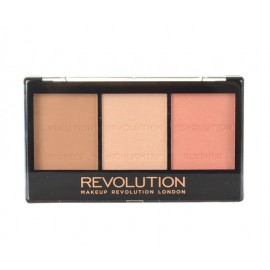 Makeup Revolution London Ultra Sculpt & Contour Kit, skaistalai moterims, 11g, (C01 Ultra Fair)
