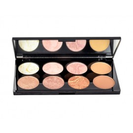 Makeup Revolution London Blush Palette, skaistalai moterims, 13g, (Golden Sugar)