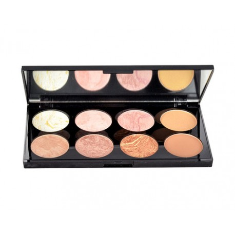 Makeup Revolution London Blush Palette, skaistalai moterims, 13g, (Golden Sugar)