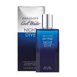 Davidoff Cool Water, Night Dive, tualetinis vanduo vyrams, 75ml