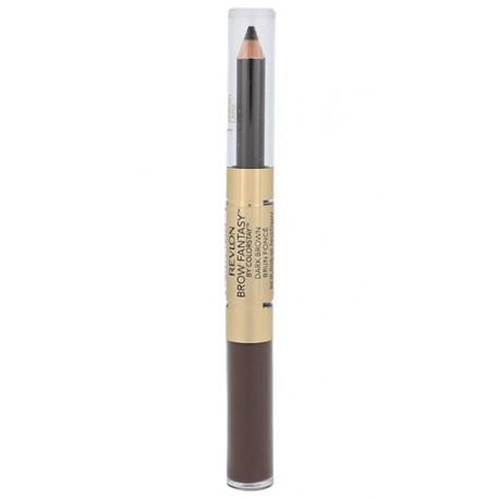 Revlon Brow Fantasy, Pencil & Gel, dažų paletė antakiams moterims, 1,49g, (Dark Brown)