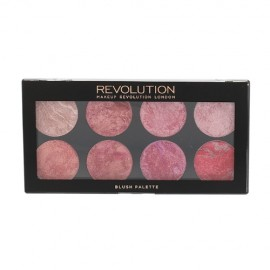 Makeup Revolution London Blush Palette, skaistalai moterims, 13g, (Blush Queen)